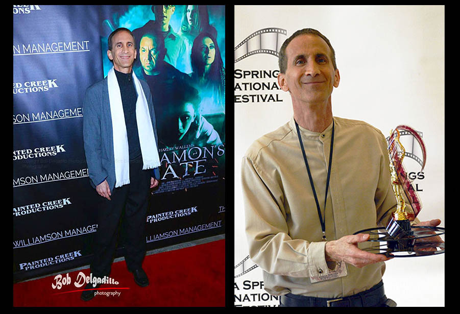 At the premiere of 'Agramon's Gate' and The Bonita Springs International Film Festival